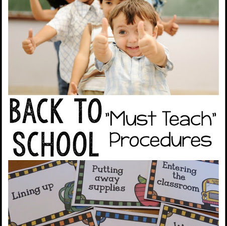 Beginning of School Procedures