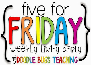 Five for Friday and NEW linky party!
