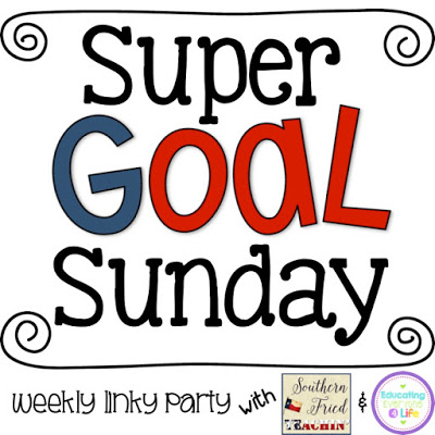 New linky party….Super Goal Sunday!