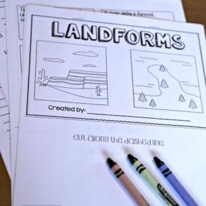 Interactive science flip book