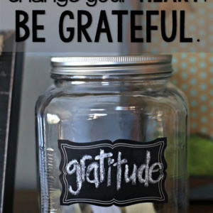 Live gratefully