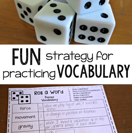 Fun and simple strategy for practicing vocabulary