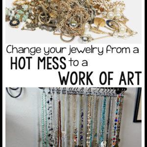 Mission: Jewelry Organization
