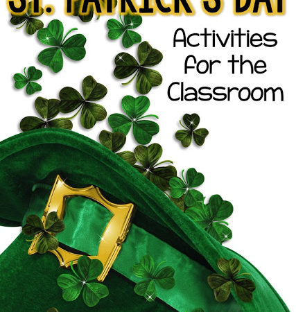 St. Patrick's Day activities!