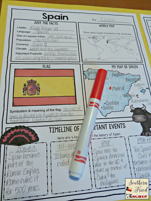 Do you have your students research about different countries? Looking for a unique way for students to display their research? These student-friendly posters are perfect for students to display their country research! And they look fabulous on a classroom bulletin board or hallway display!