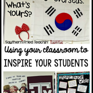 Using your Classroom to Inspire your Students