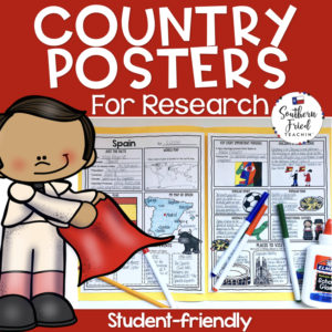country research projects posters