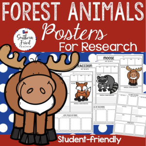forest animals research projects