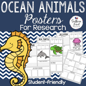ocean animals research projects
