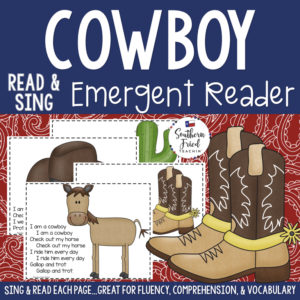 cowboy early reader