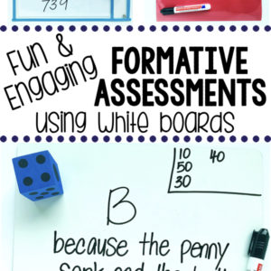 Fun & engaging formative assessments using white boards. Students beg to play them!
