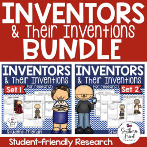 Inventor Research Project Posters are a fun and simple way for your students to research inventors and their inventions. These project posters are student friendly and help guide your students in what exactly to research. These posters are perfect for students to display their research! And they look fabulous on a bulletin board or hallway display!