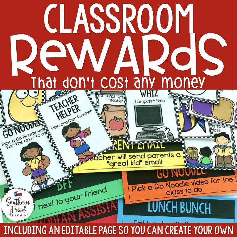 Fun & motivating classroom rewards that don't lose a dime? YES please!