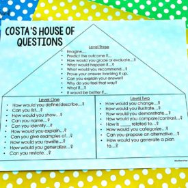Critical thinking made easy with Costa's House of Questions