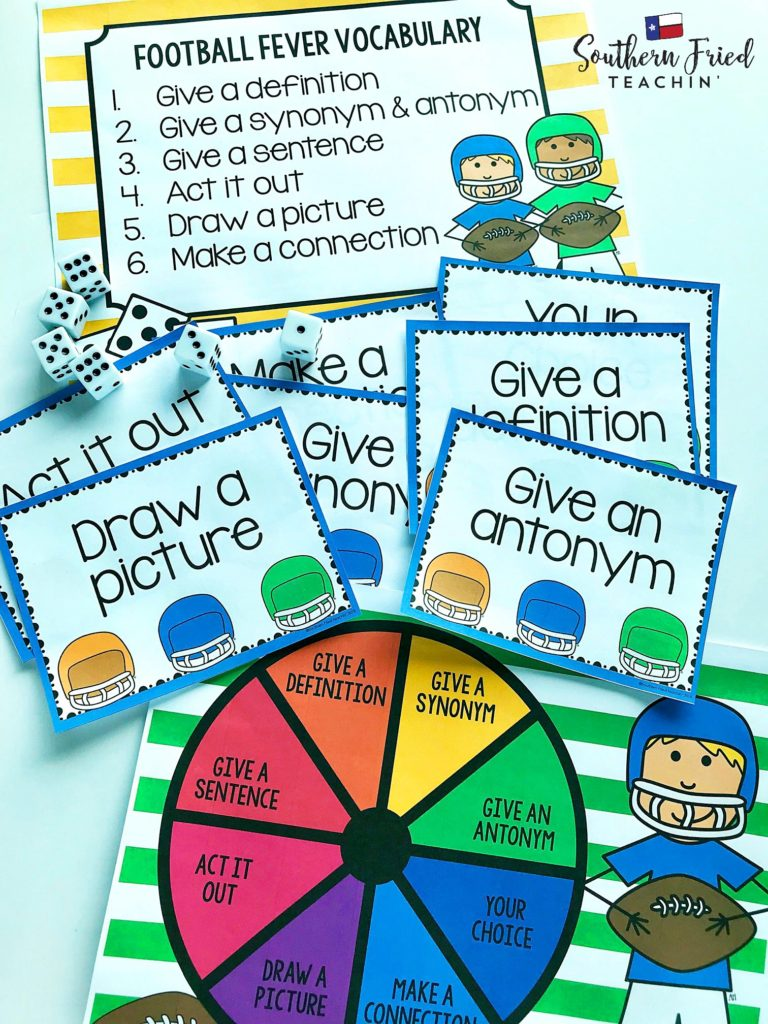Looking for some fun and engaging vocabulary activities that can be used in ANY grade and ANY subject? Here is a collection of TEN vocabulary activities that you can use in your classroom today!